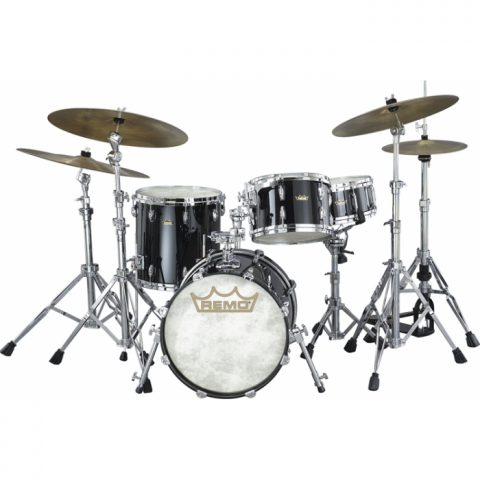 remo 4 piece drum kit gold crown 362 p